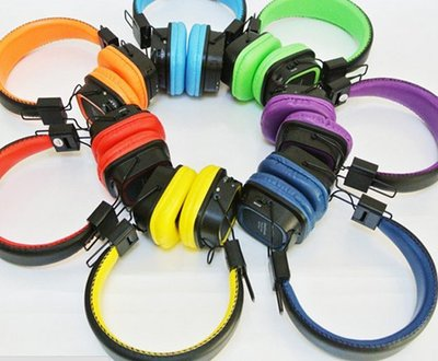 HS-22 二合一耳機 插卡FM音樂耳機 插卡MP3耳機 859