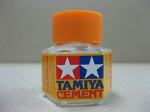 【TAMIYA 87012】Cement 模型專用橘蓋膠水 20ml