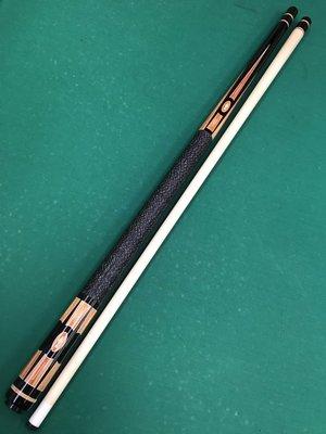 全新仿大紹 Southwest(SW) 黑檀木雕刻鑲嵌鬱金香木 經典扁鑽圖案 球桿 中輪21mm