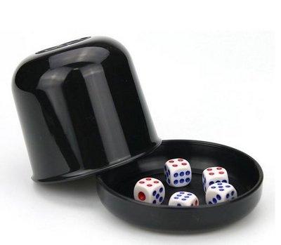 骰盅 骰子遊戲 吹牛 含5顆骰子 ktv 酒店 夜店 娛樂遊戲必備品