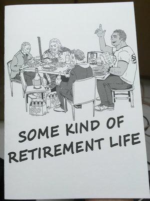 【二手】some kind of retirement life (MARVEL同人誌)