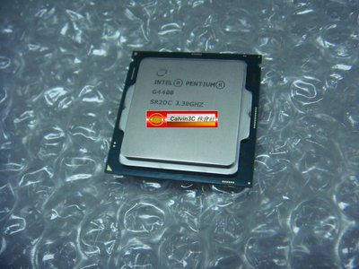 Intel Pentium 雙核心 G4400 正式版 1151腳位 內建顯示 速度3.3G 快取3M 超越 G3930