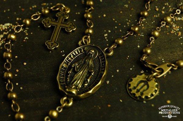 GOODFORIT / 台灣飾品品牌METALIZE Blessed Virgin Mary 聖母Y字項鍊