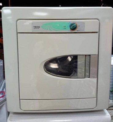 【真實園中古家電】東元 TECO QD6581NA 6公斤 二手 烘衣機 乾衣機 溫控/定時開關/抗菌靜音/台製