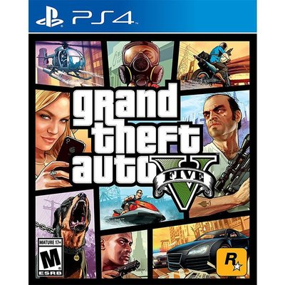[BoBo Toy] PS4 俠盜獵車手5 中文版 grand theft auto V FIVE GTA