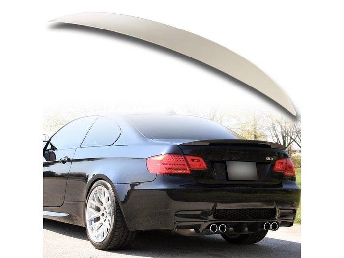 BMW 寶馬3系列 E92 雙門 07-13 適用 P款 高角度 ABS尾翼 後擾流板 噴漆件 TS-27925