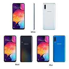 Samsung Galaxy A50 A505GN/DS 6/128GB、三卡雙待、三鏡頭、123°超廣角景深即時預覽、25MP像素、超大電量、中港4G