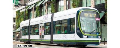 【專業模型 】2020年11月予定品 KATO 40-901 Unitram入門軌道套裝 広島電鉄1000形
