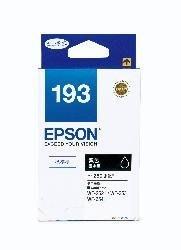 【全新含稅】原廠盒裝 EPSON 193黑色 T193150 適WF-2631/2651 WF-2521/2531/25