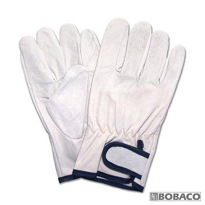 [博士牌]小羊皮手套-氬銲焊接用 / 氬焊手套 隔熱耐高溫耐磨 安全 防護手套 工作手套