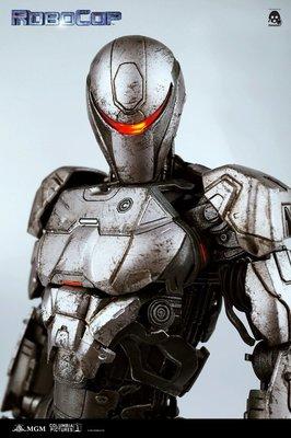 全新未開封 3A Threezero 鐵甲威龍 Robocop EM208 Alex Murphy 3aaa 限量 發行 機械戰警 仁德 非 Hottoys