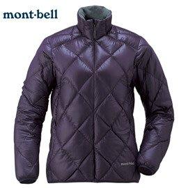 丹大戶外用品 日本【mont-bell】LT Alpine 女款羽絨外套 1101360EP 茄紫