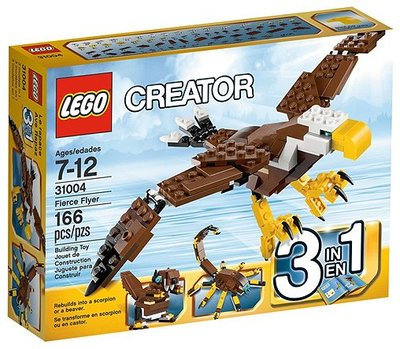 全新現貨 31004 LEGO Creator Fierce Flyer