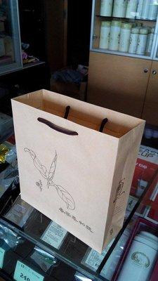 魚池鄉第一品牌【香茶巷40號】專用精美紙袋(薄)圓柱繩索
