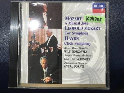 *真音樂*MOZART / A MUSICAL JOKE 二手 K24205