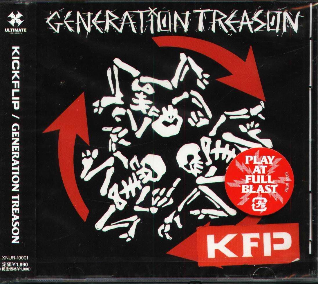 K - KICKFLIP - GENERATION TREASON - 日版 - NEW