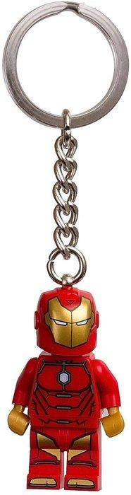 現貨【LEGO 樂高】美國官網正品 積木 鑰匙圈 人偶 吊飾 超級英雄系列 | 鋼鐵人 Iron Man