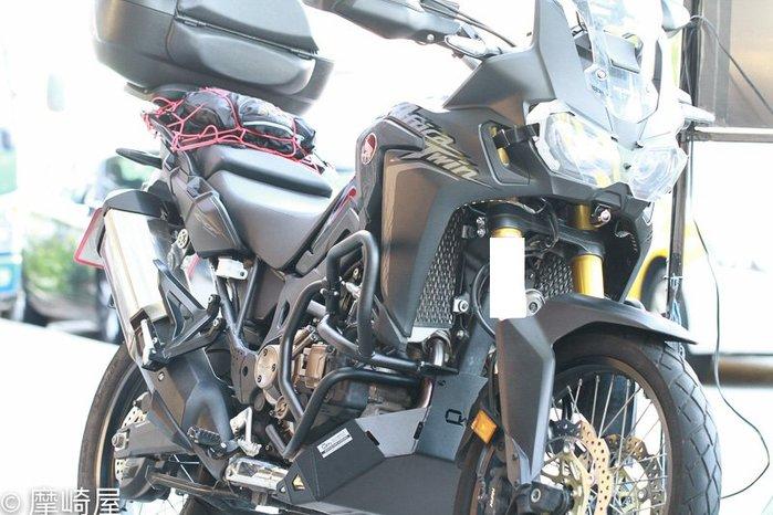 CRF1000保桿 [ 中+下保桿+下護板]  MT打檔版本 黑色 - Outback Motortek 非洲雙保桿