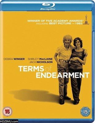 【藍光電影】BD50 母女情深 Terms of Endearment(1983)56屆奧斯卡三項大獎獲獎影片 帶國配 128-044