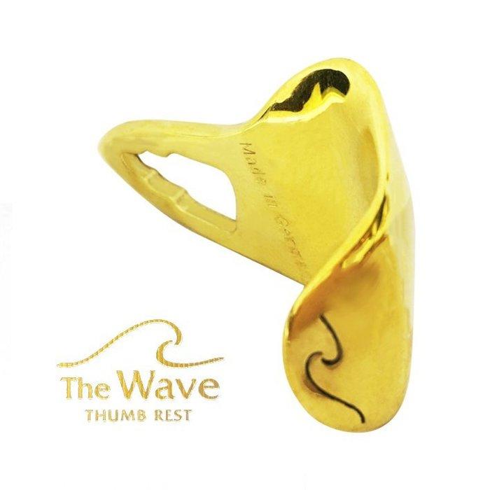 §唐川音樂§【德國The Wave舒適人體工學拇指座 / 金漆/裸銅 】德國製