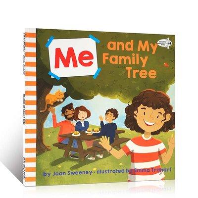 英語原版繪本啟蒙 Me and My Family Tree 吳敏蘭推薦童書 兒童啟蒙閱讀故事圖畫趣味書籍 英語輔導提升