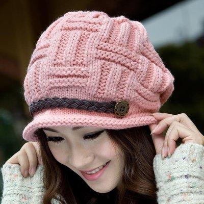 店長嚴選帽子女冬天韓版潮秋冬季保暖百搭加絨厚中老年人帽護耳針織毛線帽