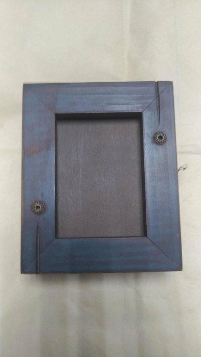 二手木製小相框 木製小收納盒