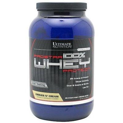 宙斯健身網-Ultimate Nutrition Prostar Whey 乳清之星低脂乳清蛋白2磅(淇淋巧酥)