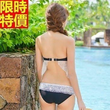 比基尼 泳衣-韓版神秘蕾絲兩件式女泳裝67h49[獨家進口][米蘭精品]