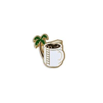 Freaky House-美國Odds And Sods Caffeine Dreamin Pin咖啡游泳池美國製
