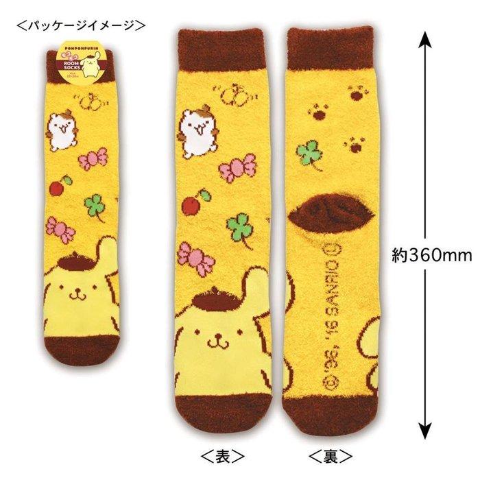 襪子 三麗鷗系列 羽毛紗 保暖襪 地板襪 布丁狗 現貨 免等 免運費 小日尼三 41+ 日本代購新業務