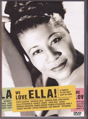 音樂居士#We Love Ella! A Tribute To The First Lady Of Song 愛艾拉 D9 DVD
