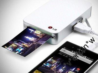 熱賣點 全新 LG Pocket Photo Printer POPO PD261 無線流動相片打印機 ios可用