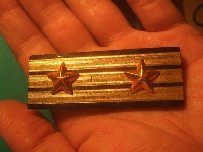151212~台灣高階警官適用(罕見~本項目一律免運費)階級章銘牌~02