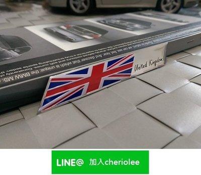 英國旗 鋁質金屬貼 Jaguar 捷豹 XF XJ XE F-TYPE Sovereign XJ6 F-PACE RS