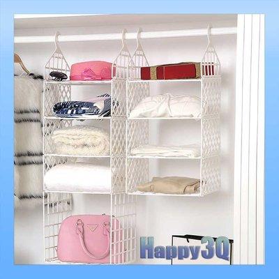 穩固耐用耐重可折疊整齊收納衣櫃超大容量吊掛多層收納架-加長款【AAA0775】預購
