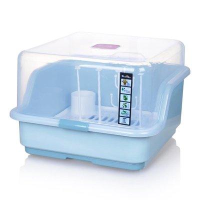 嬰兒奶瓶收納箱翻蓋餐具便攜加厚大容量Lpm2189