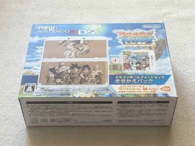 【KENTIM 玩具城】中古二手new 3DS七龍珠限量日規掌上主機