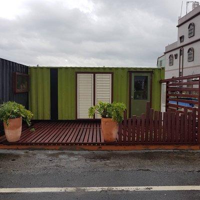 58二手貨-移動式小木屋(20呎貨櫃屋)