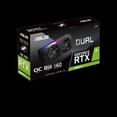 【丹尼小舖】ASUS 華碩Dual-RTX3060TI-O8G-V2 顯示卡