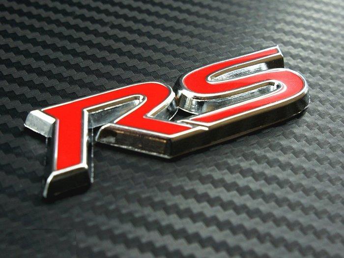 RS立體金屬車貼 汽車 晶片 鑰匙 貼紙 3D 立體 車貼 反光貼紙 車身貼紙 裝飾貼紙 裝飾 收集 高品質