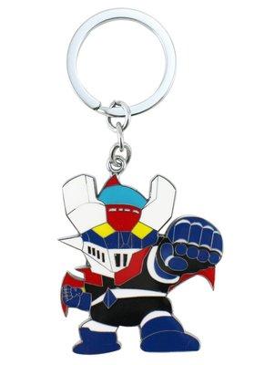 【卡漫迷】 無敵鐵金剛 金屬 鑰匙圈 ㊣版 Mazinger Z 魔神Z 拉鍊環 吊飾環 掛飾
