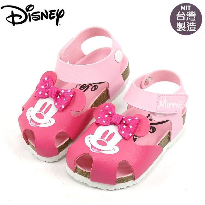 童鞋/正版Disney迪士尼米奇護趾氣墊涼鞋.童鞋.桃色(14-19號119330)