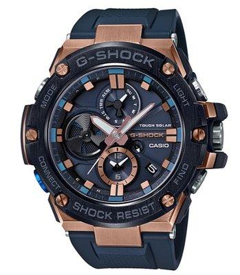 【萬錶行】CASIO G SHOCK 競速太陽能運動腕錶  GST-B100G-2A