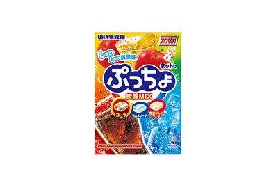 【大欣食品】味覺噗啾綜合汽水糖 UHA 味覺糖 日本