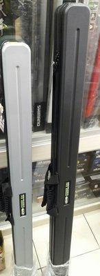 【欣の店】EVO 海力士 ABS 釣竿保護袋 硬式竿袋 耐衝擊直筒竿袋 135cm 黑色