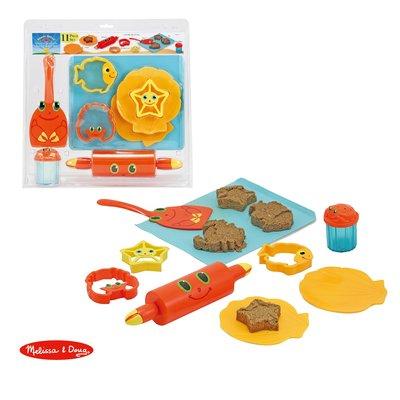 【晴晴百寶盒】美國進口塑沙工具組 Melissa&Doug扮演角系列手眼協調生日禮物家家酒 益智遊戲玩具W688