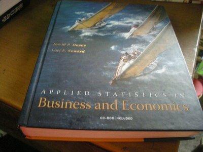 買滿500免運 / 崇倫『 Applied Statistics in Business and Economics//ISBN:0071108149有光碟