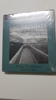 CD 英文有聲書 COMFORTABLE WITH UNCERTAINTY
