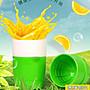 橙汁榨汁機手動迷你壓果汁機家用學生擠水果...